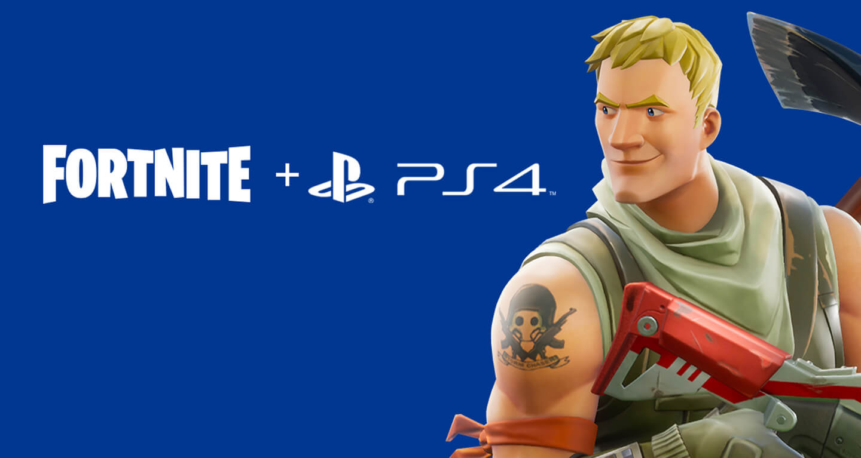 Fortnite Sony Playstation 4