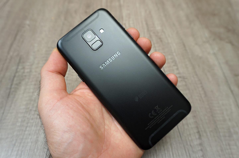 Galaxy A6 camera