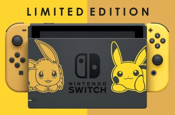Nintendo Switch Limited Edition spelcomputer met Pikachu
