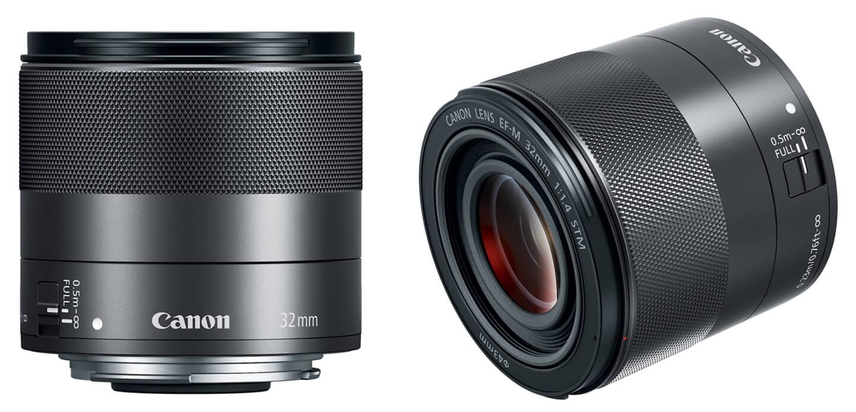 Objectief voor Canon EOS M