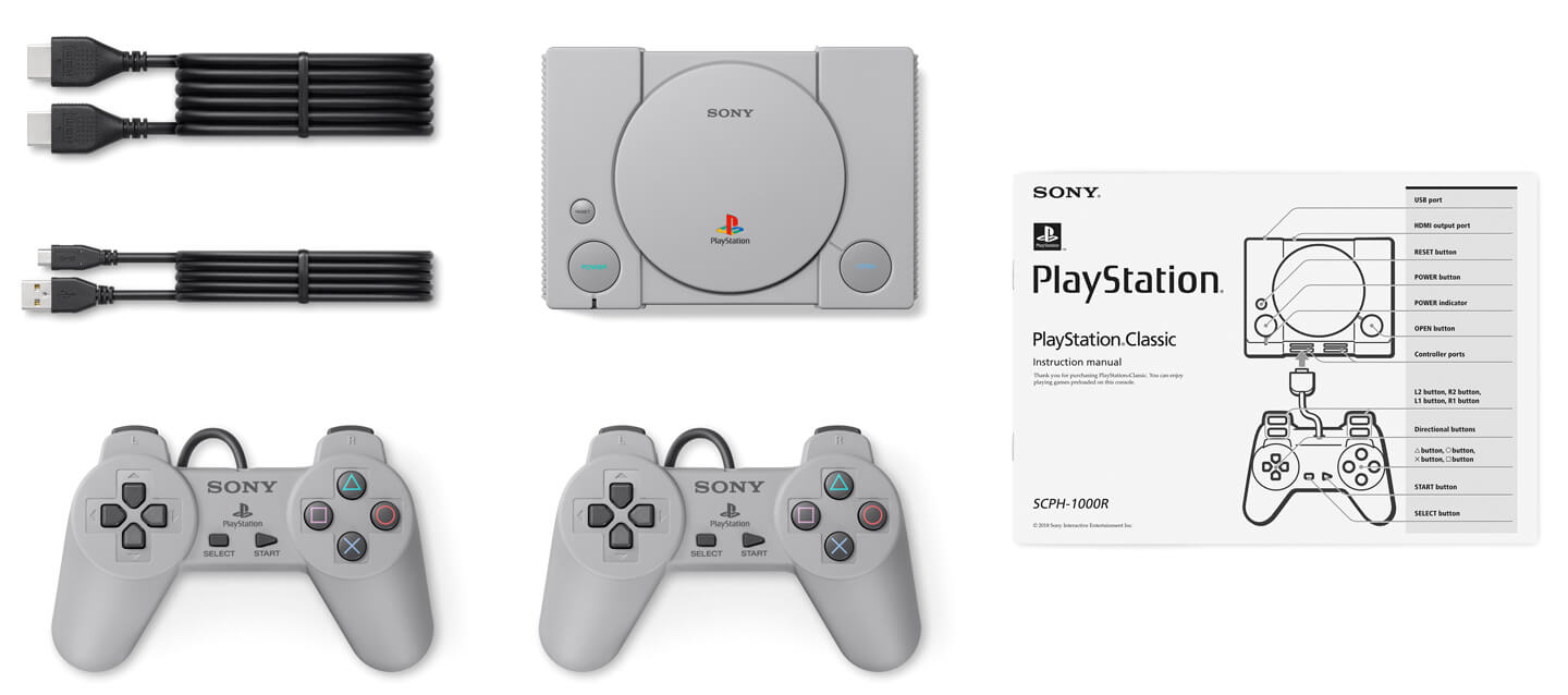Playstation classic retro console