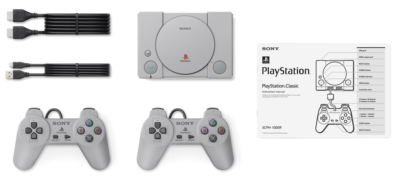 Playstation classic retro console