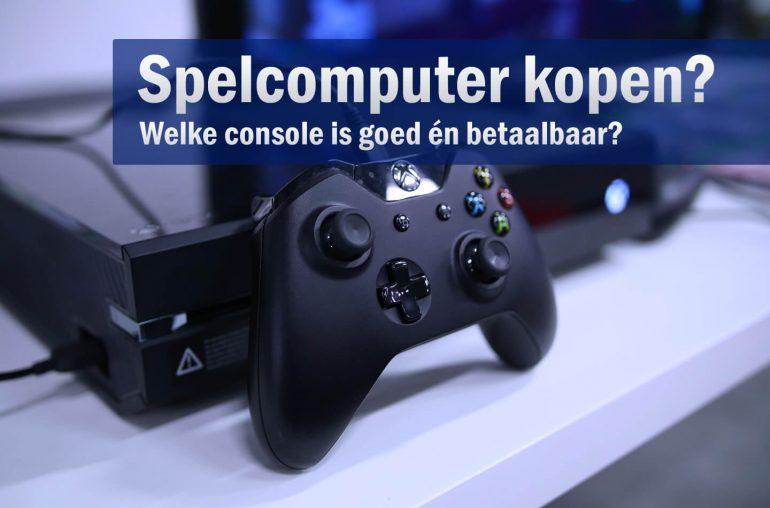 Spelcomputer kopen