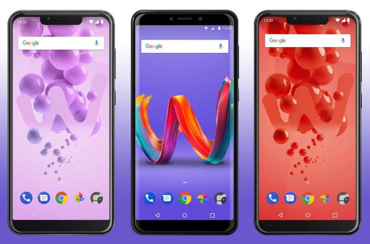 Wiko smartphone modellen 2018