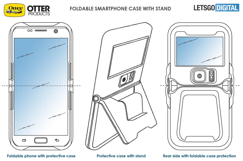 Buigbare smartphone