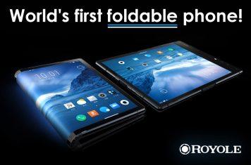 Eerste opvouwbare smartphone