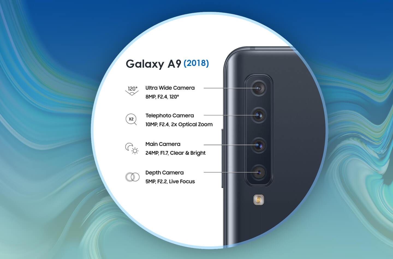 Galaxy A9 2018 smartphone