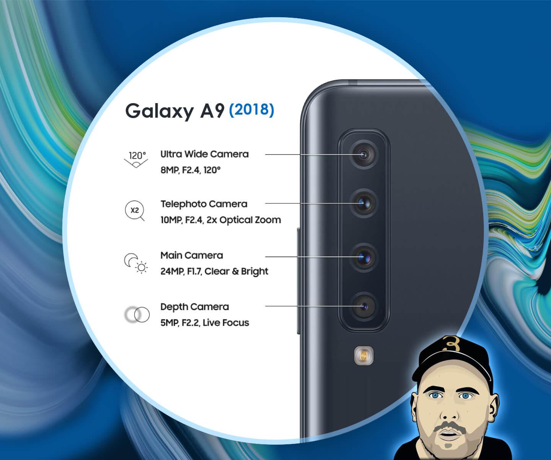 Galaxy A9 camera