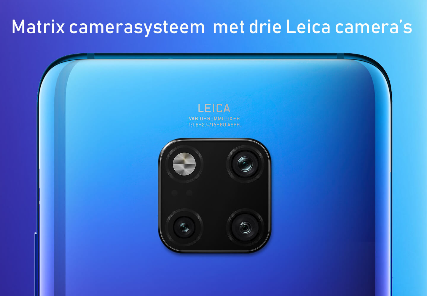 Mate 20 matrix camera