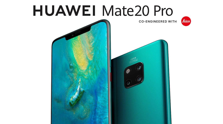 Mate 20 smartphones