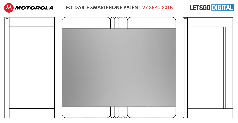 Motorola opvouwbare smartphone tablet