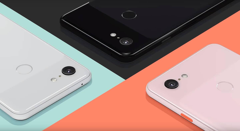 Nieuwe Google smartphone