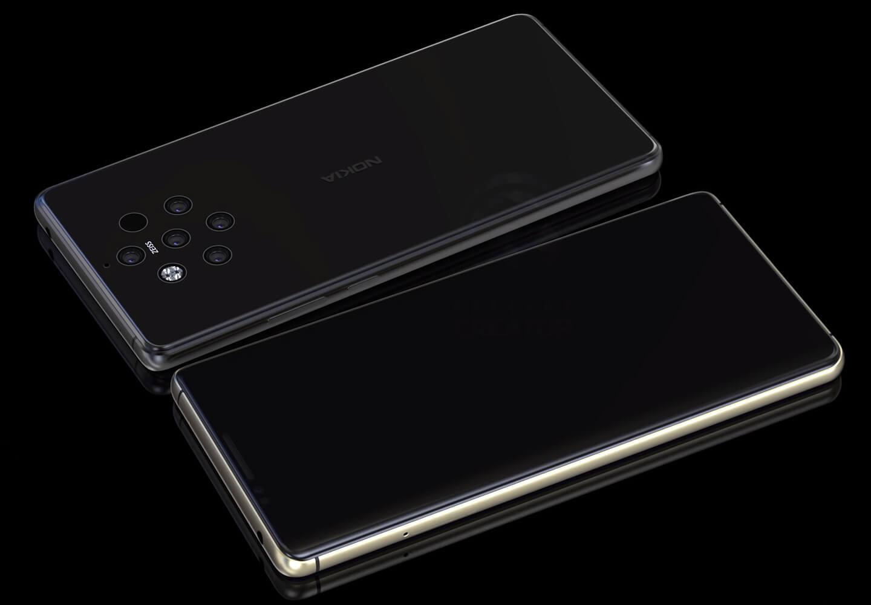 Nokia 9 smartphone