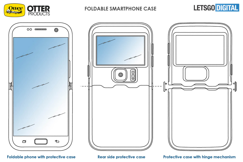Opvouwbare smartphone case