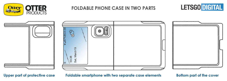 Opvouwbare smartphone cover
