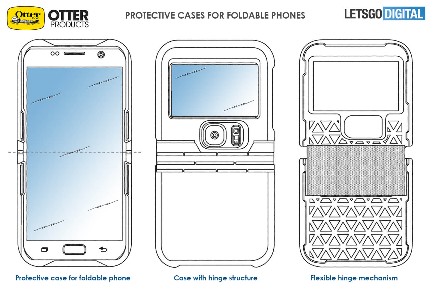 Otterbox foldable smartphone cases