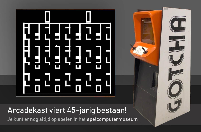 Retro arcadekast