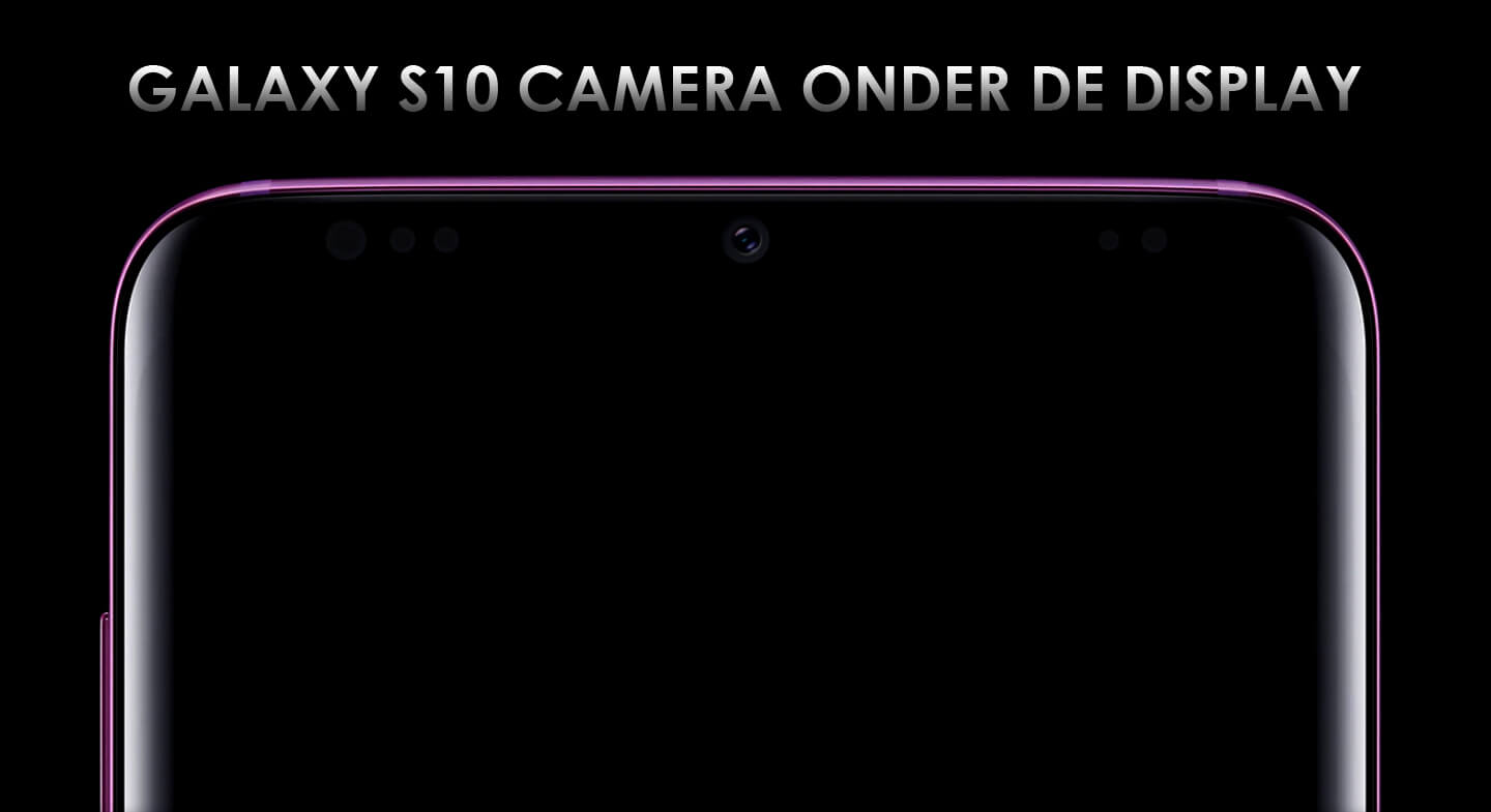 S10 camera onder display