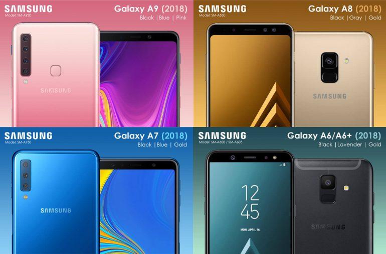 Samsung Galaxy 2018 smartphone overzicht
