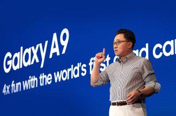 Samsung Galaxy A9 telefoon