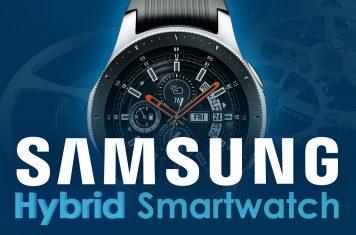 Samsung hybride smartwatch