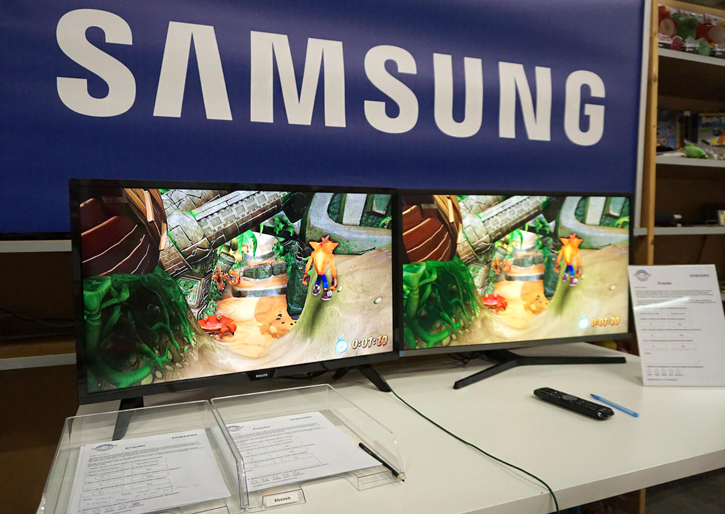 Samsung QLED monitor test