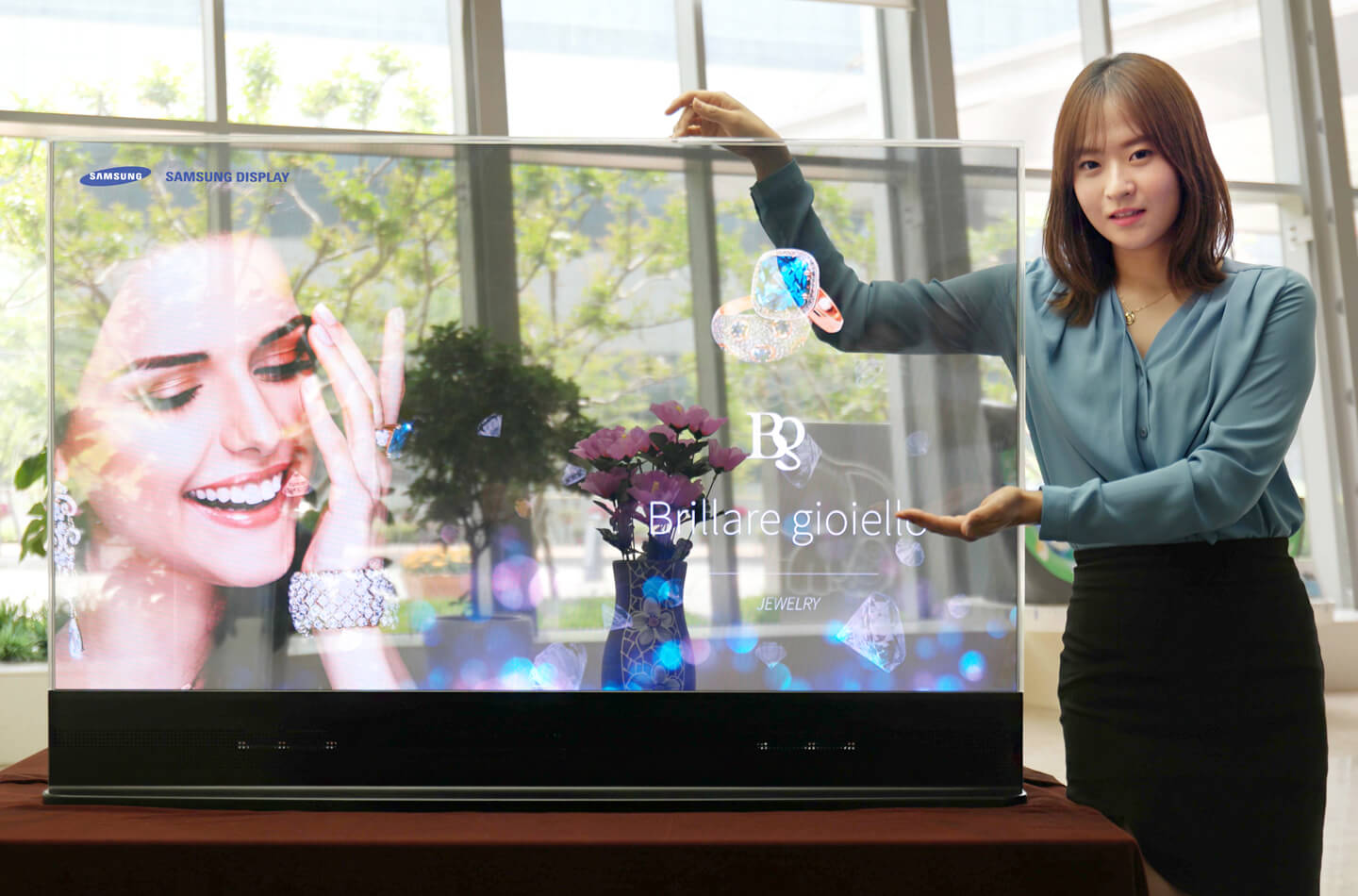 Samsung The Window TV