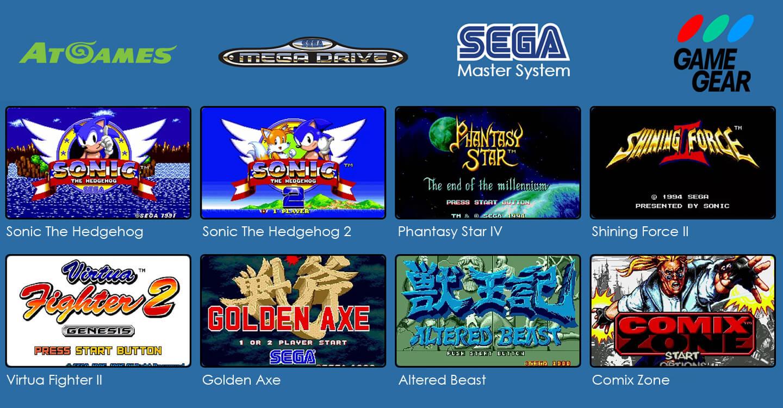 Sega retro games