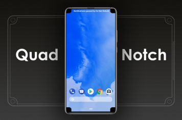 Smartphone Quad Notch
