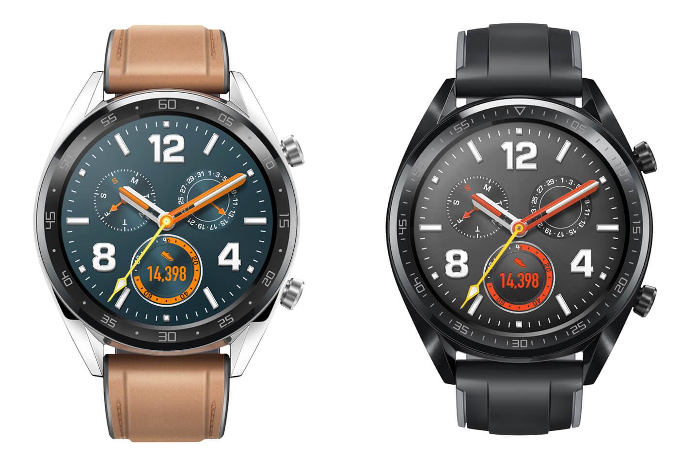 Smartwatch met grote batterij