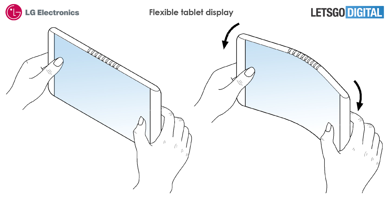 Tablet met buigbaar scherm