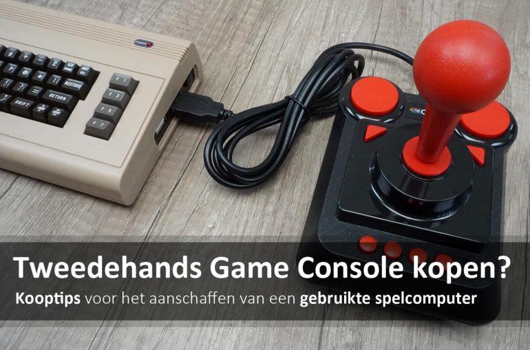 Tweedehands spelcomputer kopen
