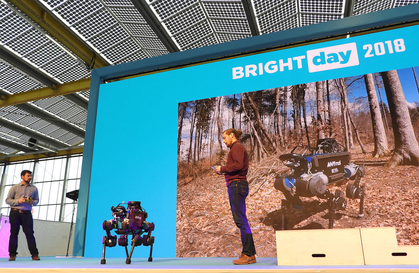 Bright Day 2018 robots