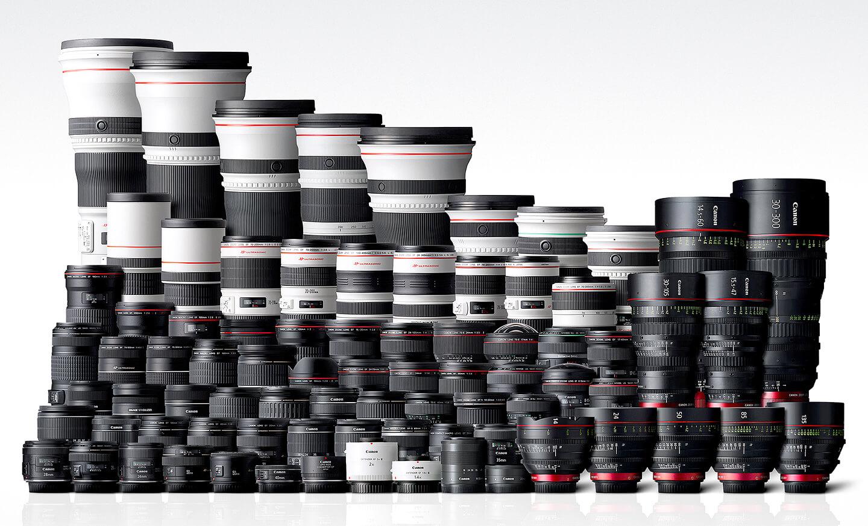 Canon EF objectieven