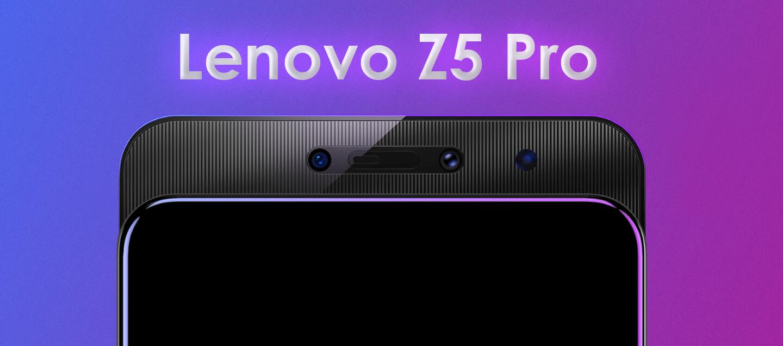 Lenovo Z5 Pro camera