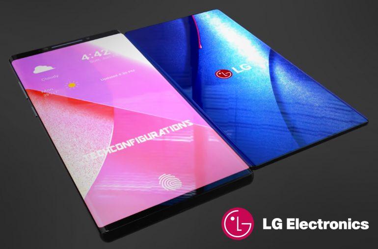 LG Bendi opvouwbare smartphone