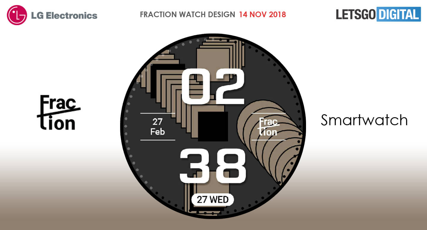 LG Fraction watch
