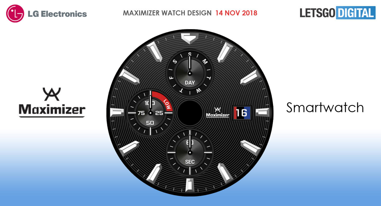LG Maximizer smartwatch