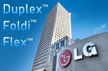 LG opvouwbare smartphones