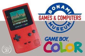 Nintendo Game Boy Color exact 20 jaar oud