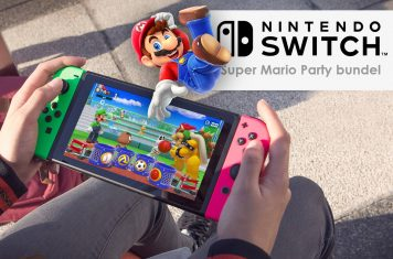 Super Mario Party bundel met twee Nintendo Switch controllers