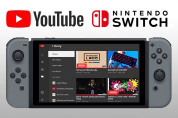 YouTube video's bekijken op Nintendo Switch game console