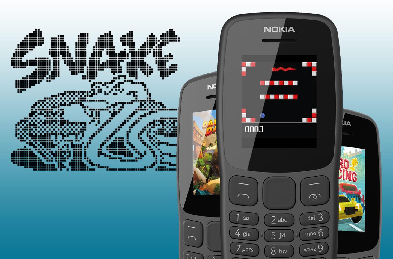 Nokia telefoon met Snake