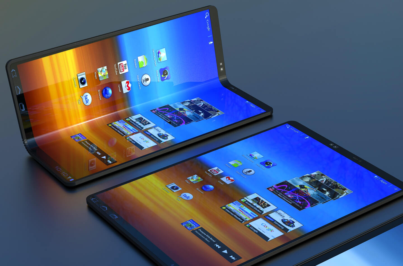Opvouwbare Samsung smartphone ontwerpen   LetsGoDigital