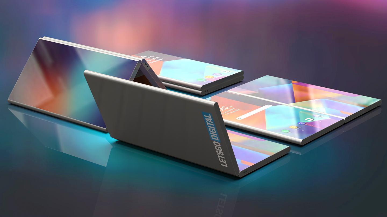 Opvouwbare smartphones