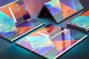 Samsung dual-screen opvouwbare smartphone