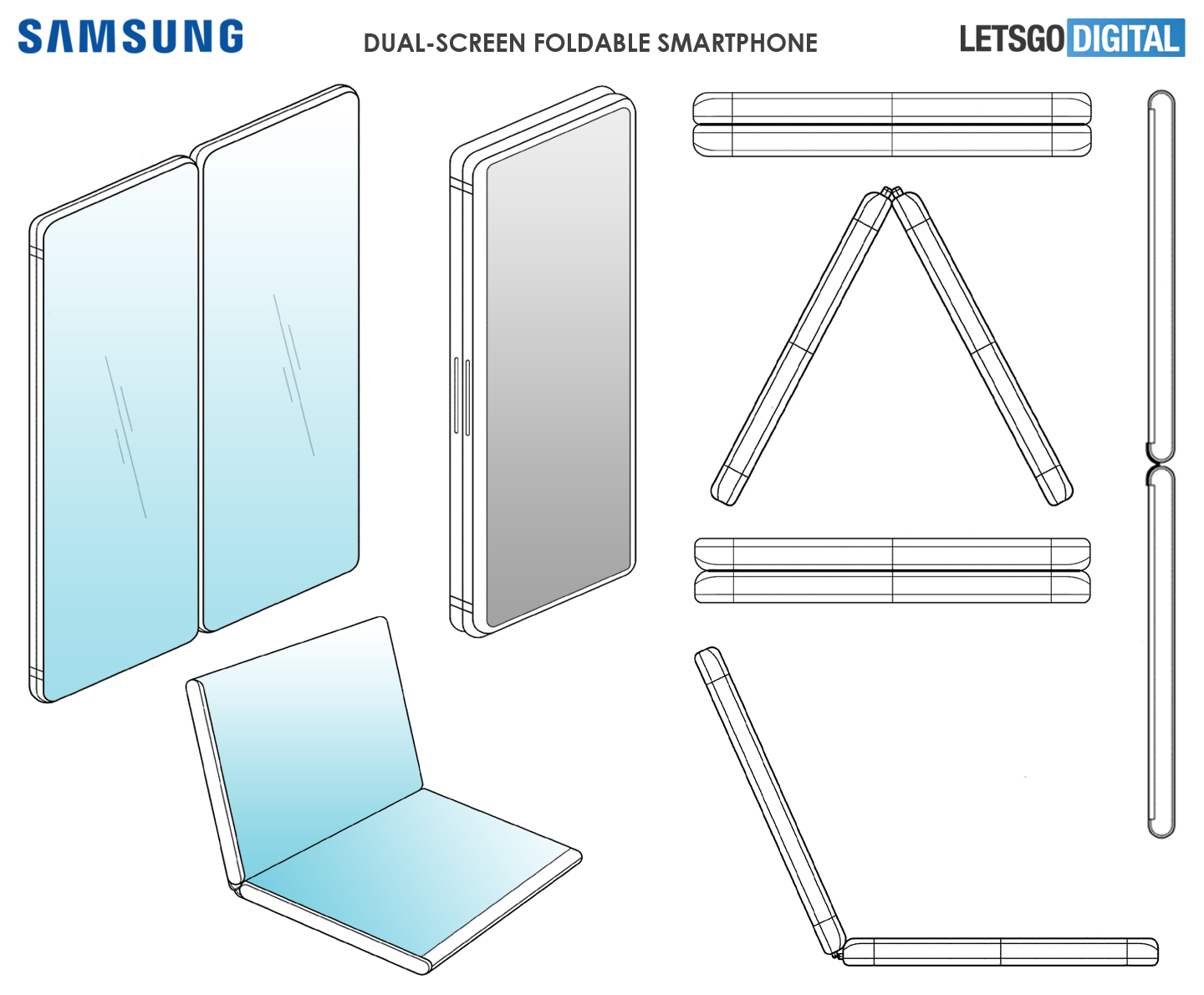 Samsung dual-screen smartphone
