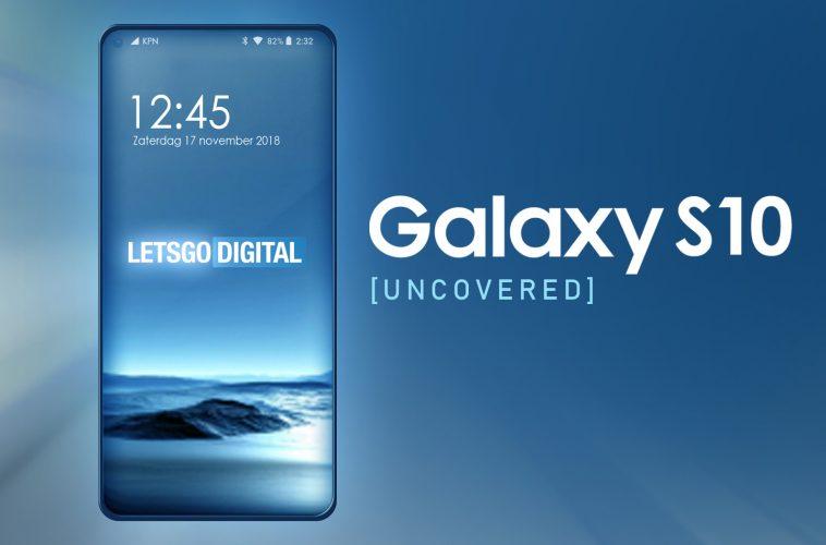 Samsung Galaxy S10 Infinity-O display