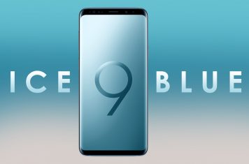 Samsung Galaxy S9 ice blue