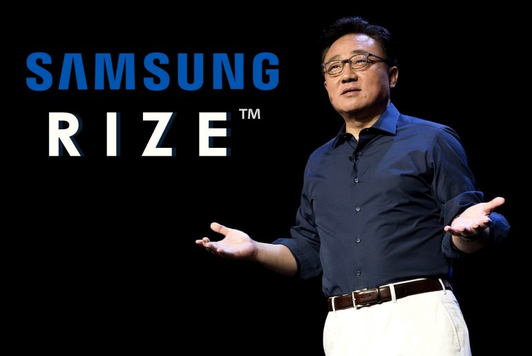 Samsung Rize smartphone